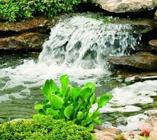 Природная аэрация в реке