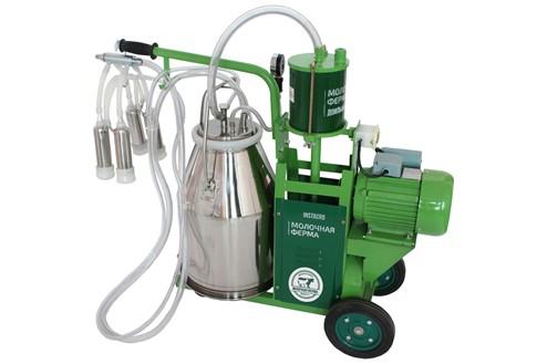 Доильный аппарат на базе вакуумной установки