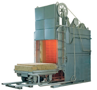 Камерная электрическая печь