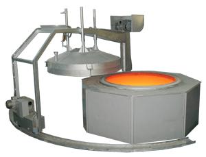 Термообрабатывающее шахтное устройство