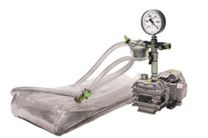 Вакуумный мешок с насосом и редуктором