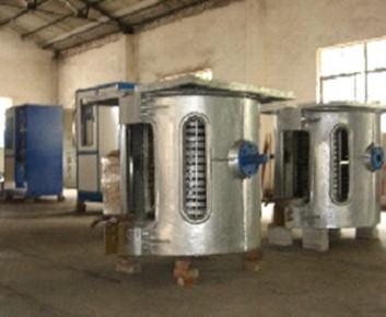 Тигельная индукционная печь для плавки металлов