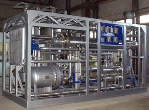 Криогенный бластинг в химической промышленности