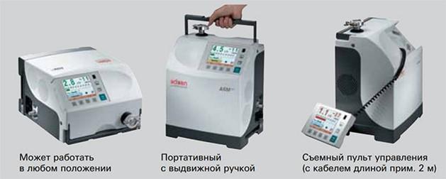 Разновидности гелиевого течеискателя ASM 340