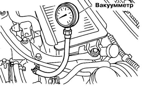 Диагностика двигателя при помощи вакуумметра