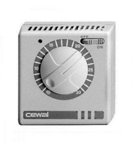 Механический термостат системы отопления