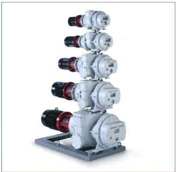 Газоохлаждаемые агрегаты Рутса